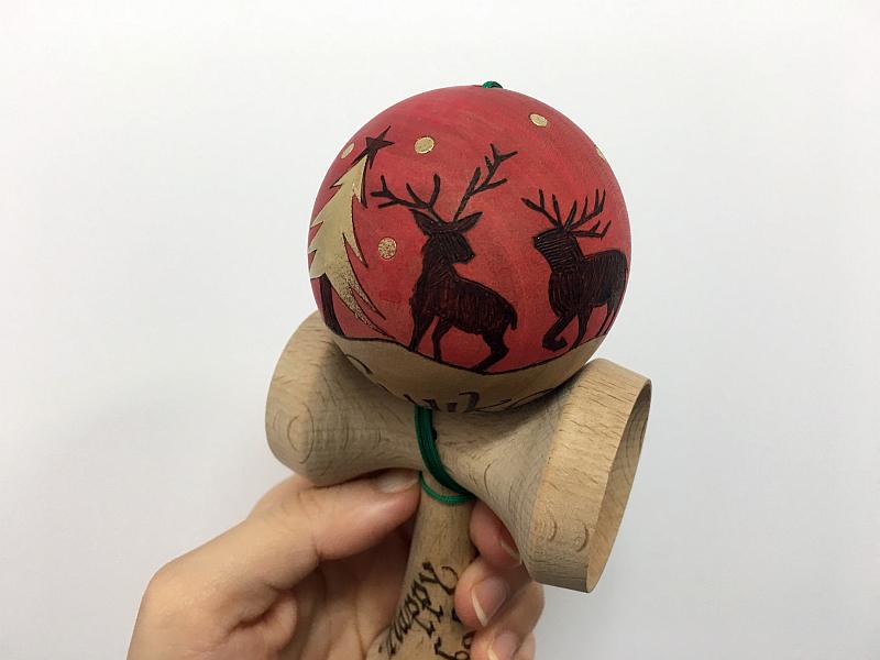 クリスマスけん玉3