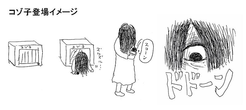 コゾ子登場イメージ